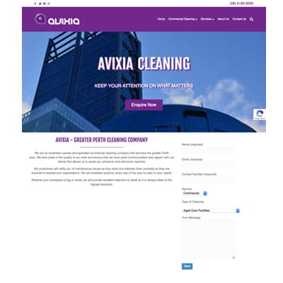 Avixia Cleaning - Perth Commercial Cleaning Company